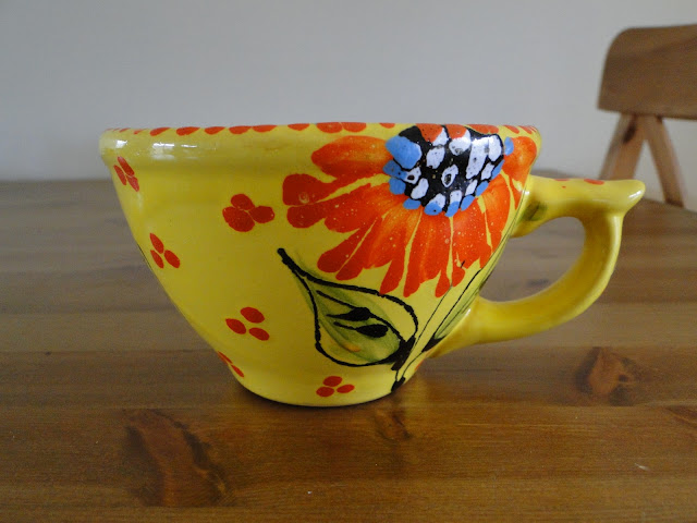 One of my favorite cups by Sophia Trach, Lviv, Ukraine