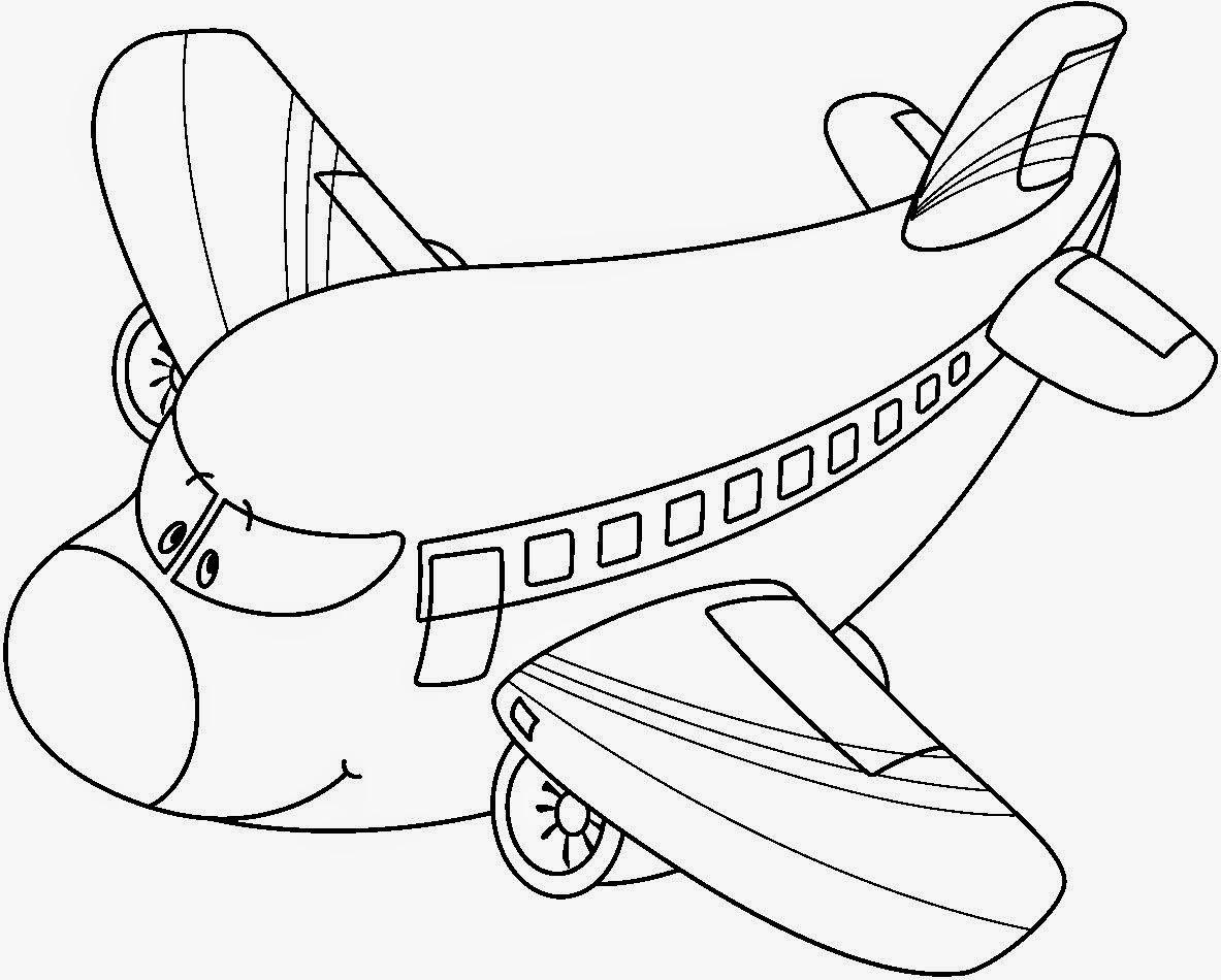 Mini Aerotrastornados: Aviones para colorear