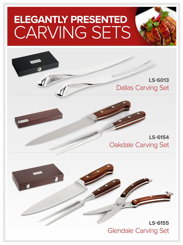 Elegant Carving Sets