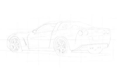 15 Passos de Como desenhar um carro