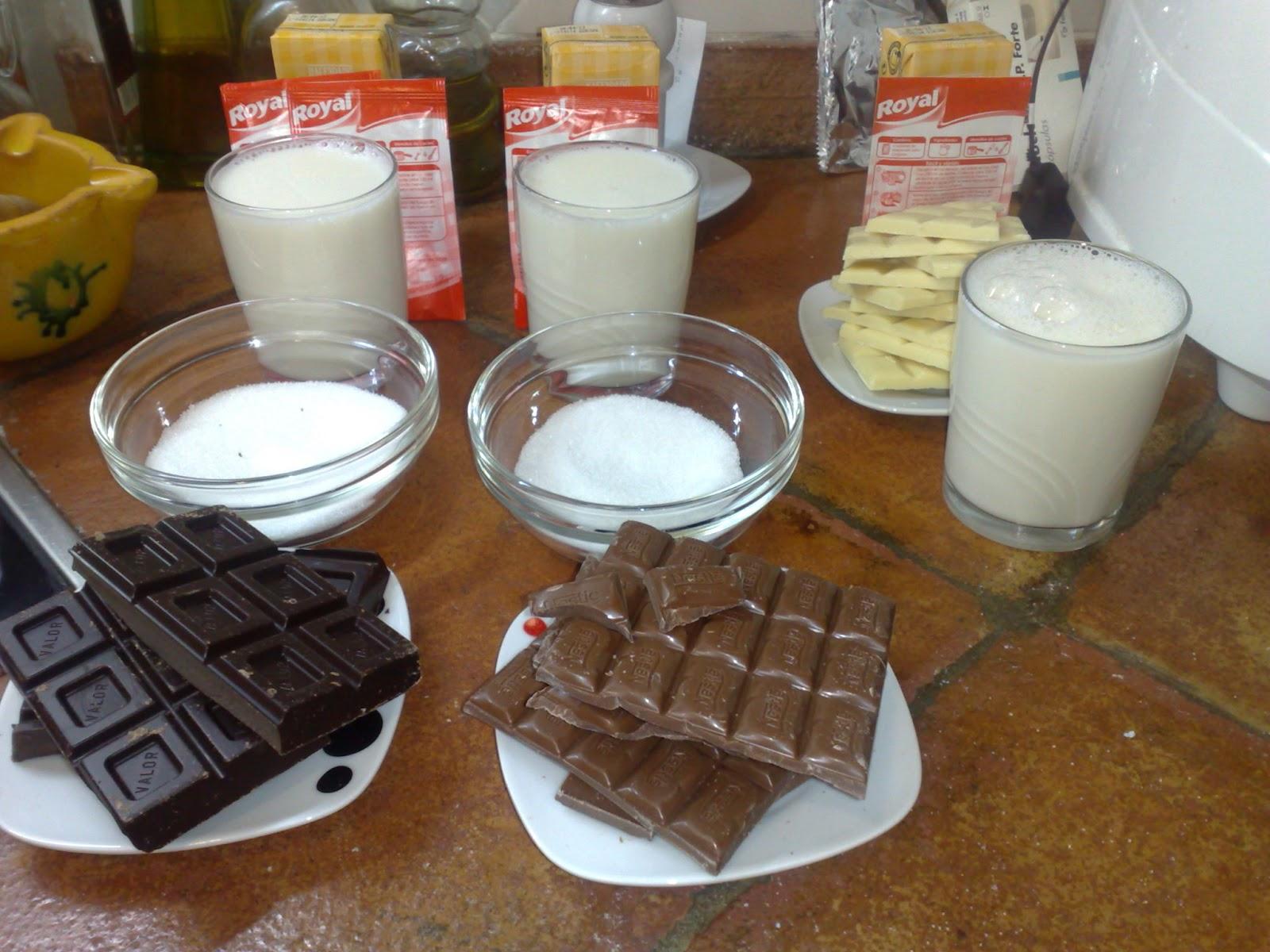 Tarta 3 chocolates - Nata para cocinar mercadona ...