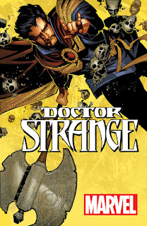 All-New, All-Different Dr Strange wielding Axe and Kicking Ass
