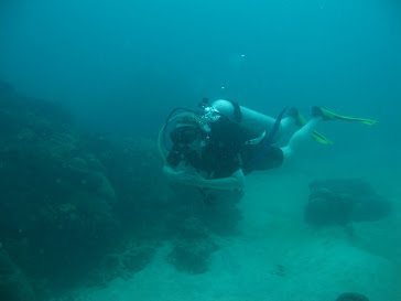 diving at perhentian island