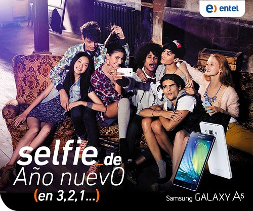 SAMSUNG GALAXY A5 CON ENTEL