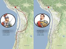 LA RUTA DE CHILE: ALMAGRO Y VALDIVIA, INTERACTIVO