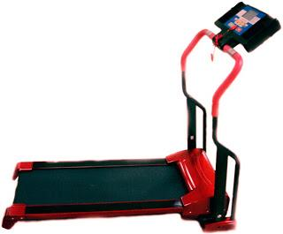 jual alat fitness treadmill elektrik harga murah