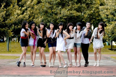 Foto Personil Cherry Belle (ChiBi) Girlband Indonesia