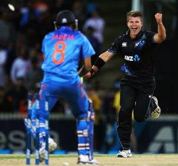 India vs New Zealand 3rd ODI 2014 Scorecard, India vs New Zealand 2014 match result,