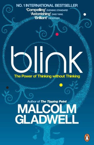 Blink by Malcom Gladwell Book cover