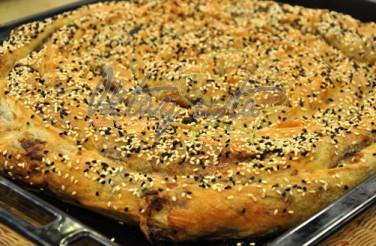 Fesleğenli Patlıcanlı Gül Böreği Tarifi
