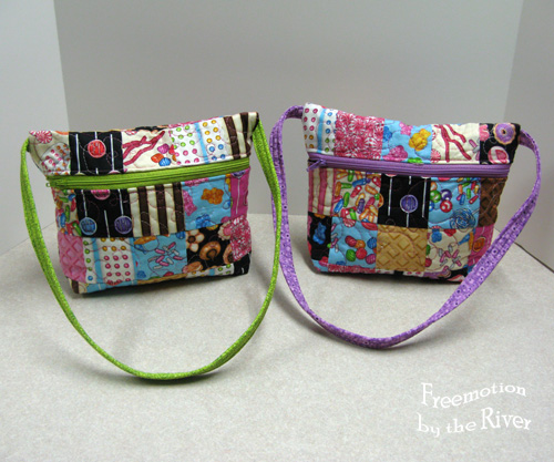 Candy Tote tutorial @Freemotion by the River