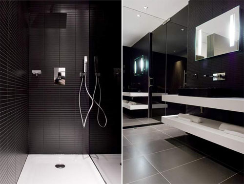 Luxury bathroom interior design modern home minimalist for Contemporary bathroom interior design