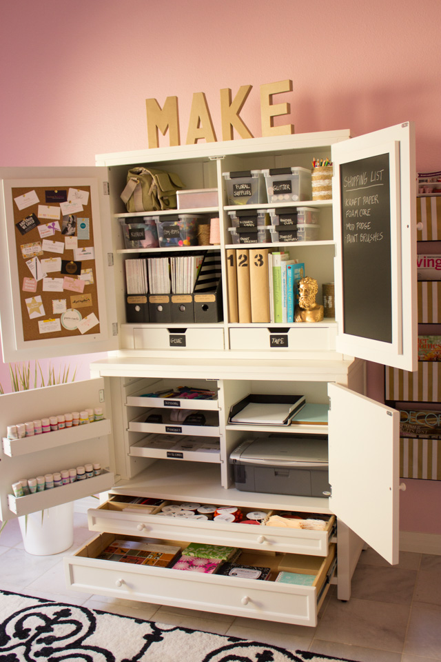 How To Create An Organized Craft Room Design Improvised