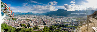 Plan de ville de Grenoble - 2011 - © Laurent Salino / Office de Tourisme de Grenoble