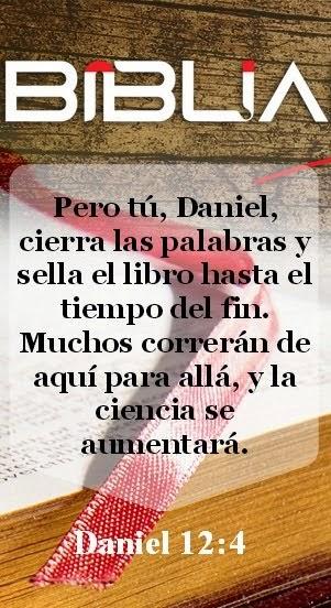 El libro de Daniel dice: