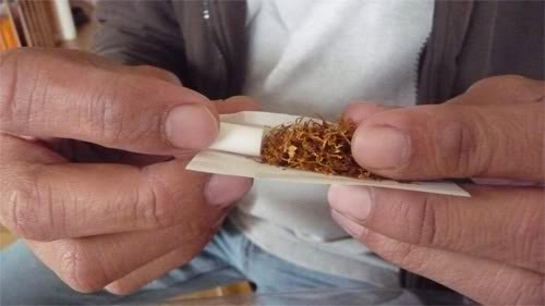 Kata tingwe adalah singkatan linthing dhewe alias menggulung rokok sendiri. Melinting ini bisa manual pakai tangan atau alat sederhaha. Pembungkusnya sesuai selera dan racikan tembakaunya pun sebebas-bebasnya.