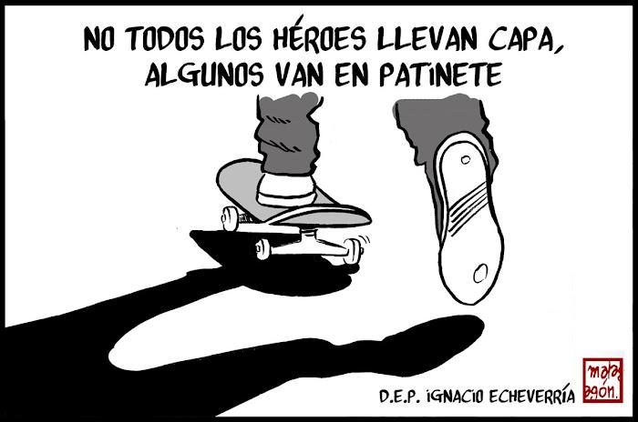 * En Memoria de Ignacio Echeverría *