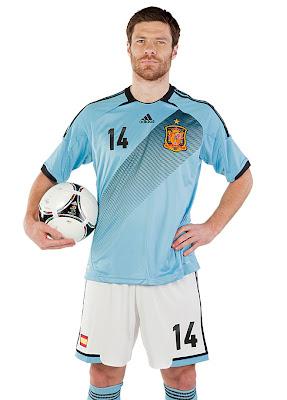 Nuevo Uniforme de España para la Eurocopa 2012