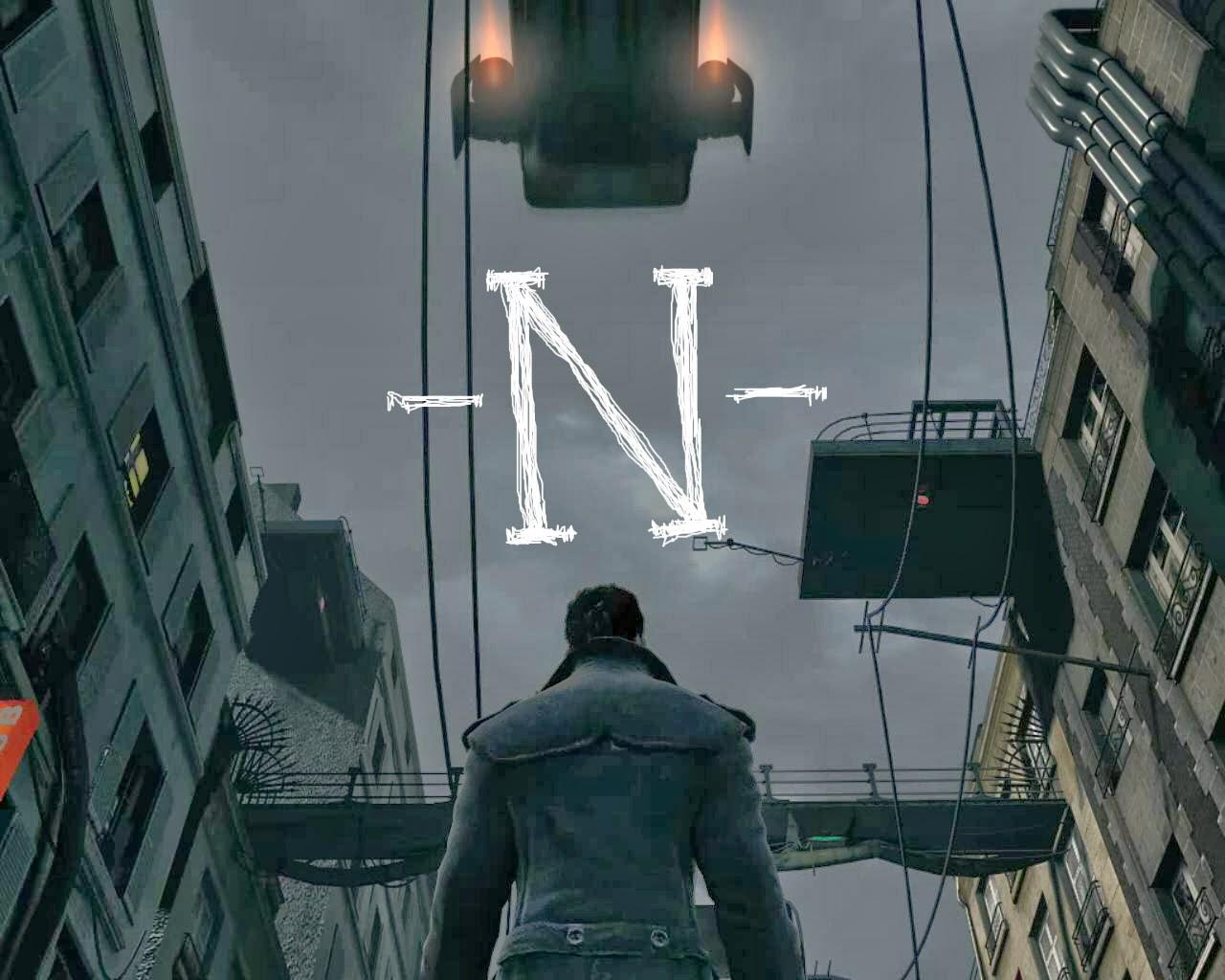Останній спогад про місто -Н-