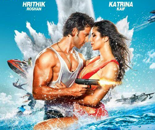 Hrithik Roshan, Katrina Kaif - Bang Bang - Movie Trailer Poster Wallpaper