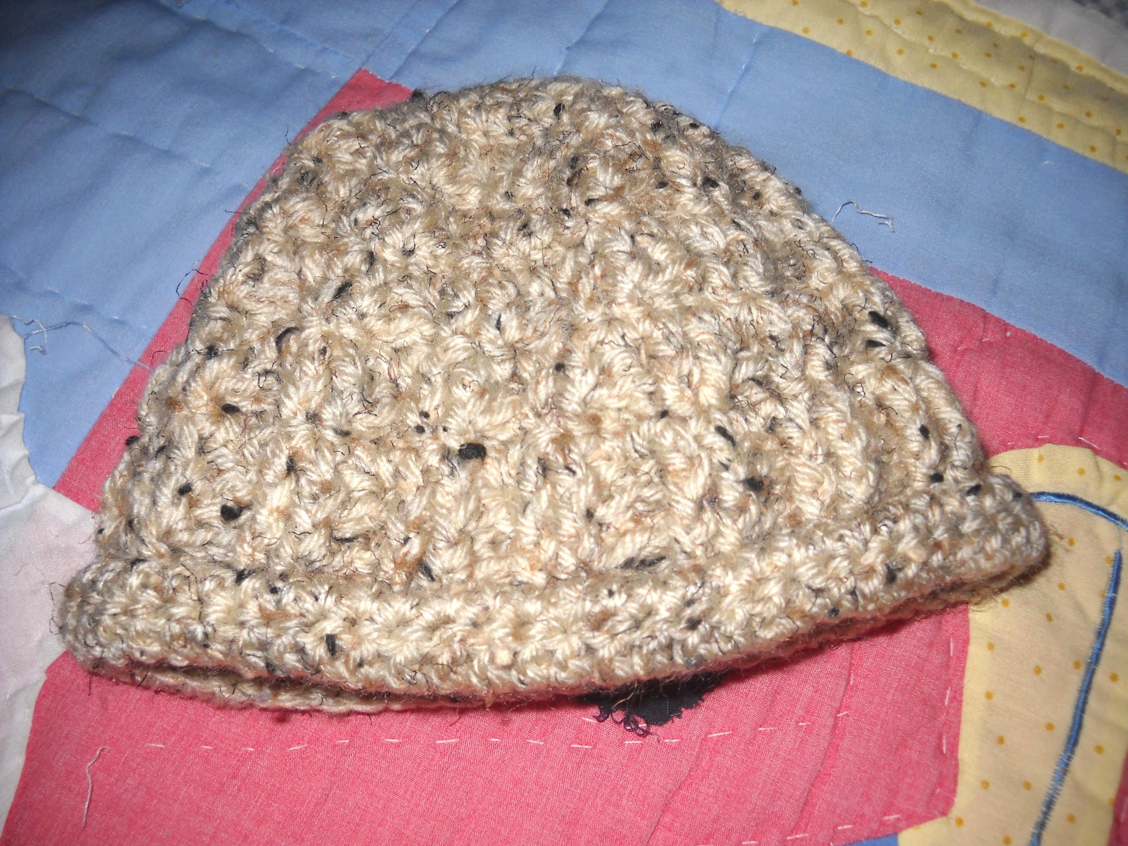 ... Love ~ Just For You: Just Like Daddy Infant Hat Free Crochet ...