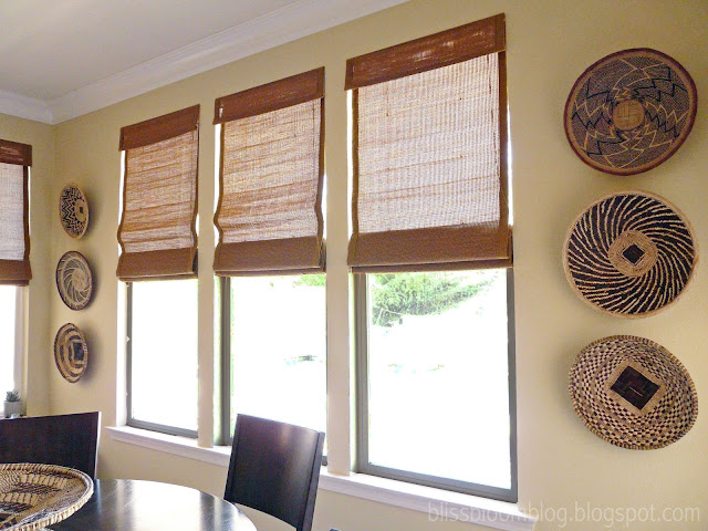 African basket wall decor for African wall decoration