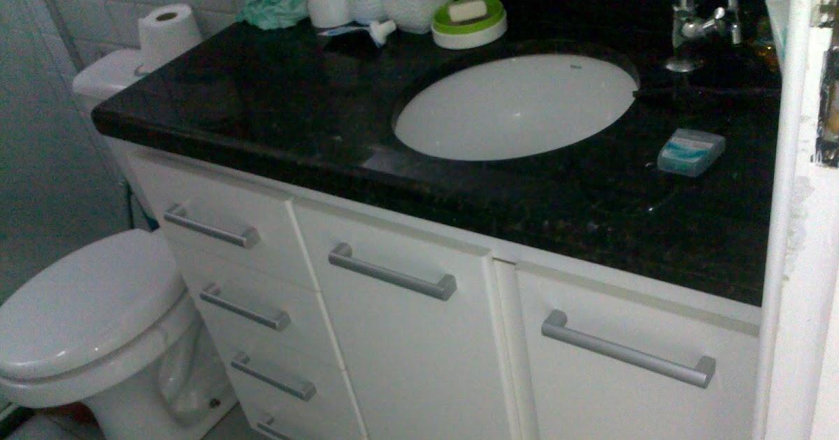 Artesanato Angelica Martins ~ Gabinete Para Banheiro Armario de banheiro com pia