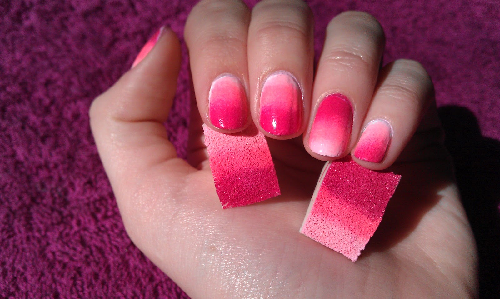 nail art trend that I am loving right now, Ombre Nails !