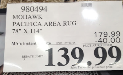 Deal for a Mohawk Pacific Heights Decorative Area Rug at Costco