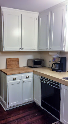Kitchen Renovation - Refacing Kitchen Cabinets - Before & After