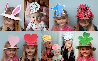 Iu0027ve got to say that Iu0027m really impressed that so many of the other bloggers with kids out there get so much written up and posted.  sc 1 st  Filth Wizardry & Filth Wizardry: Super easy paper plate hats for every occasion