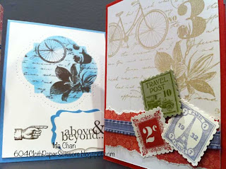Spring Stamp-a-stack cards Postage Due by Ida Chan