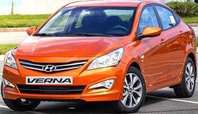 New Front Of 2015 Hyundai Verna Facelift