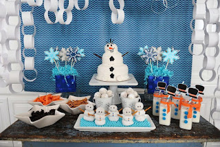 Dekorasi Ulang Tahun Anak Tema Frozen