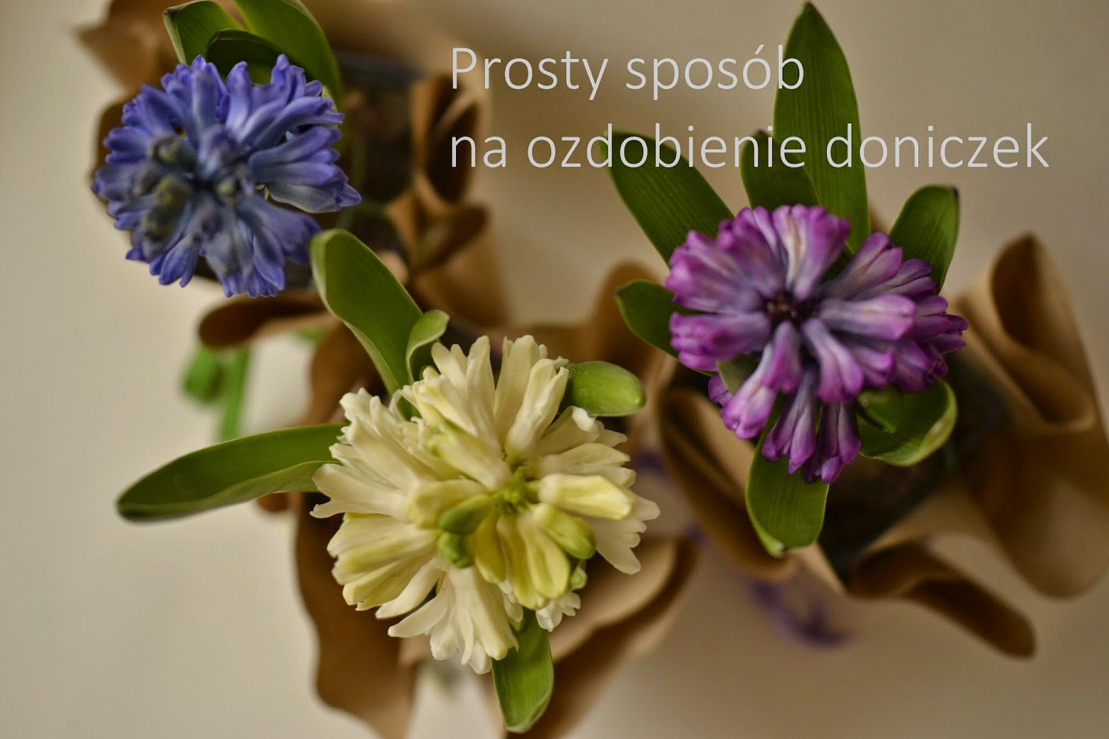 Prosty sposób na ozdobienie doniczek z kwiatami