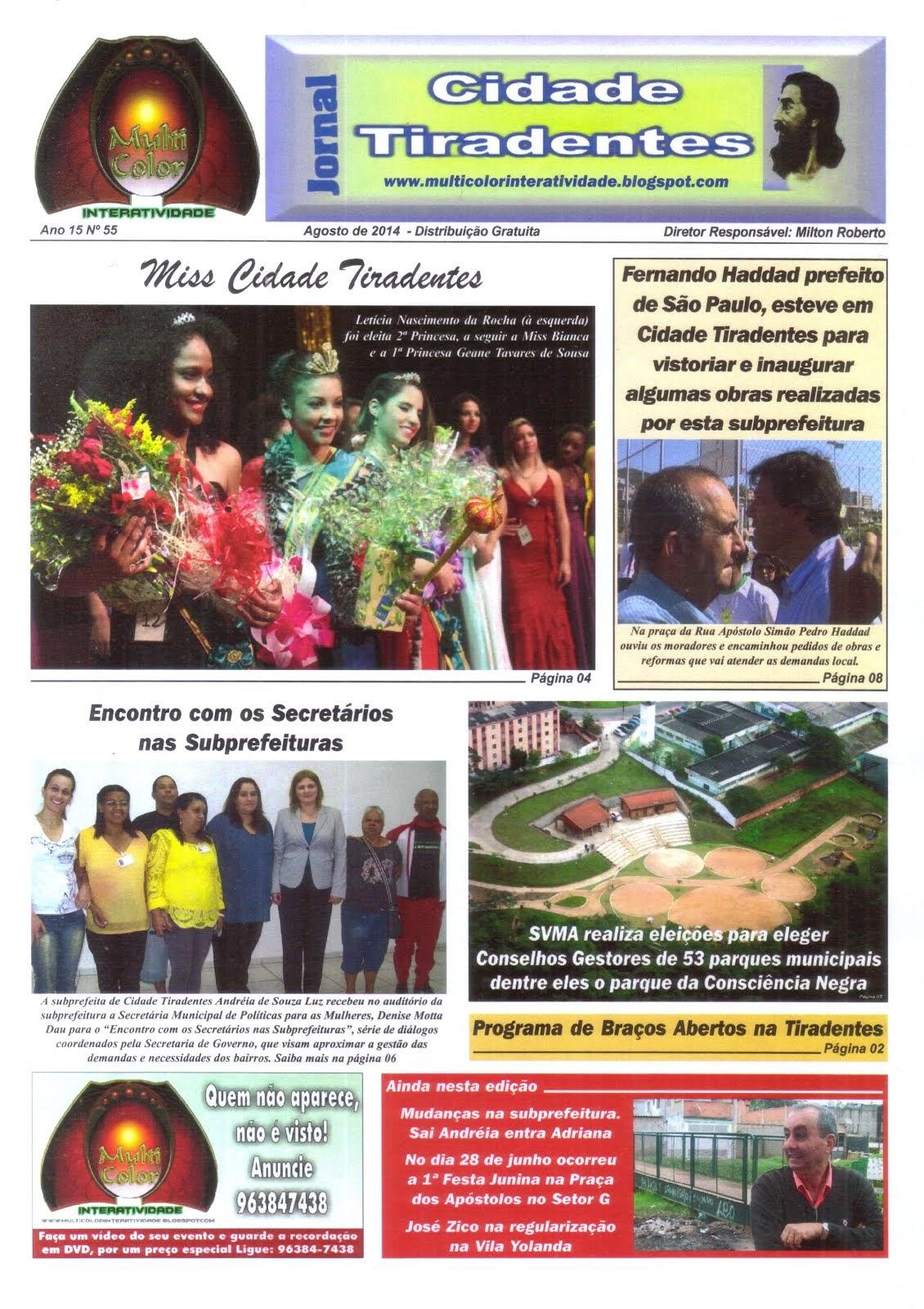 Jornal Cidade Tiradentes 55