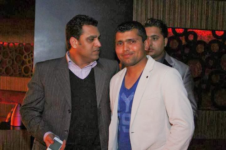 Pakistani Cricket Players At Cine Gold Plex