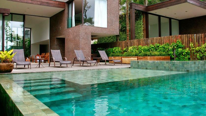 Revestimento piscina pedra hijau chez moi for Axex shop galeria jardin
