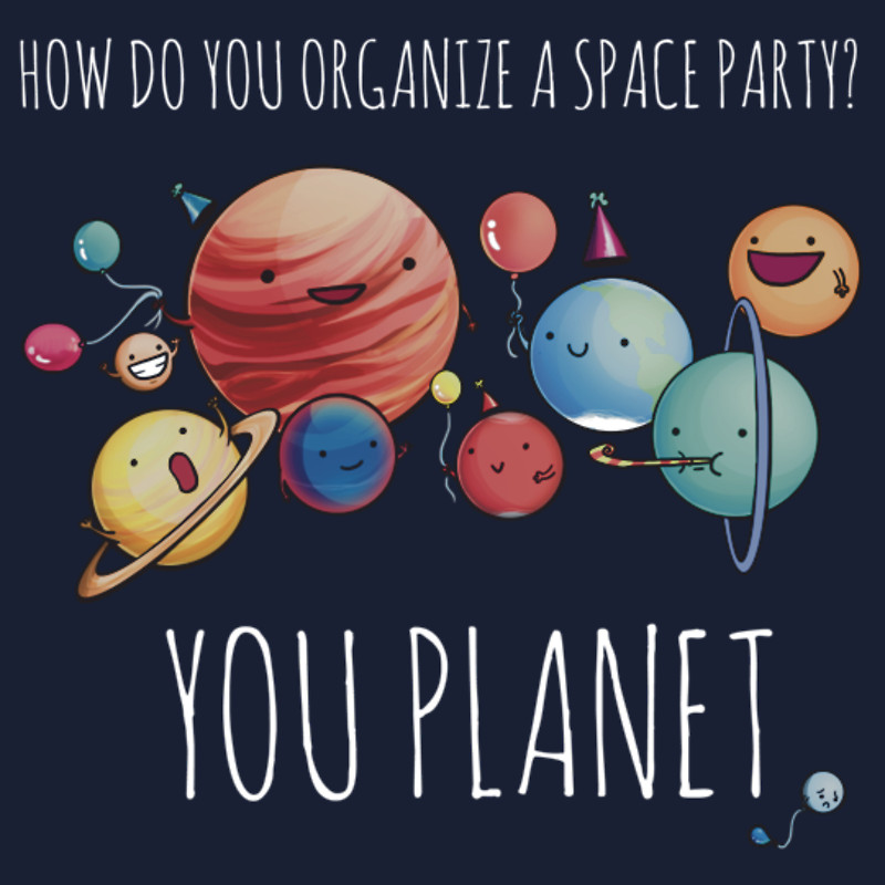 Space party.