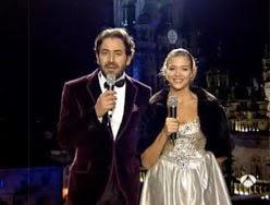 Antonio Garrido y Patricia Montero, uvas, campanadas
