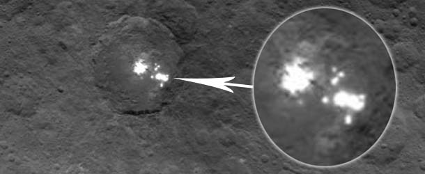 NASA Images Show Extraterrestrial Cities On The Surface Of Ceres?