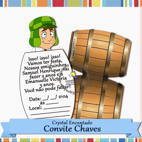 convite barril do chaves