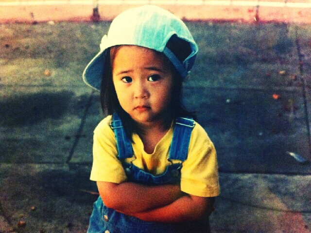 [PICTURE] Adorable Krystal f(x) Childhood Photo