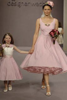 short pink wedding dress