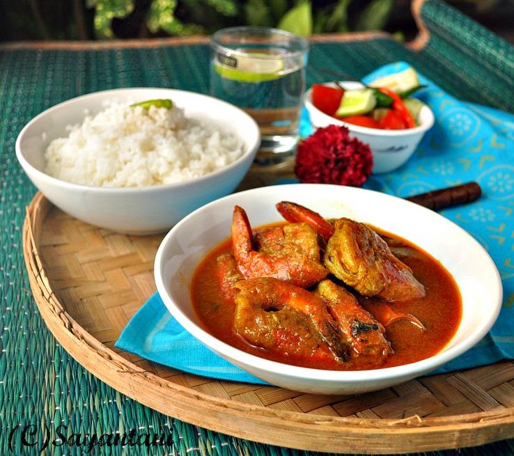 chingri macher malai curry bengali recipe chicken