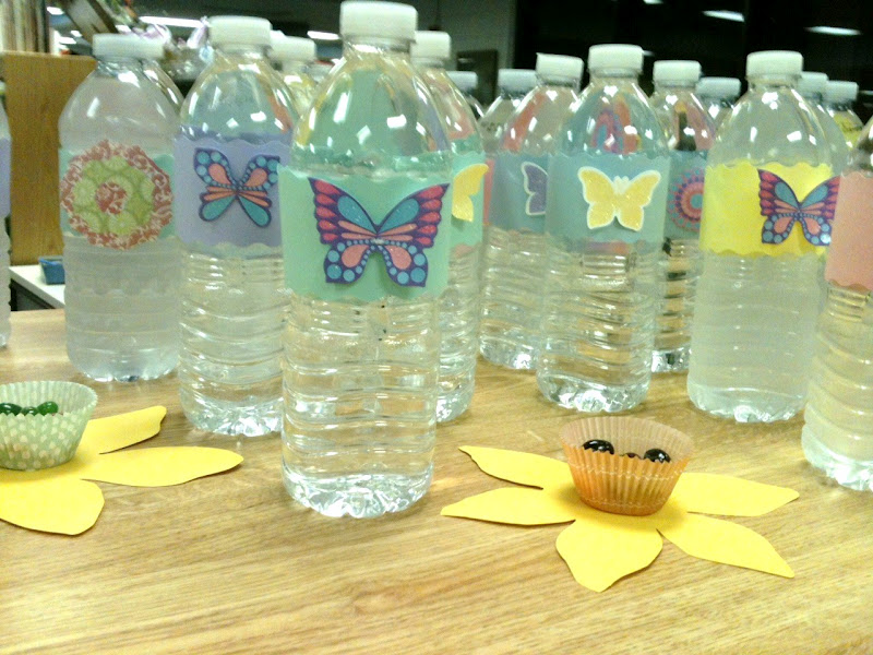 Cute Water Bottle Decorating Ideas Enchanting March 2012  The Kitchen Is My Playground Decorating Inspiration