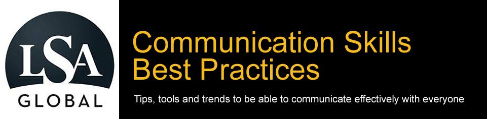 Communication Skills Training Best Practices