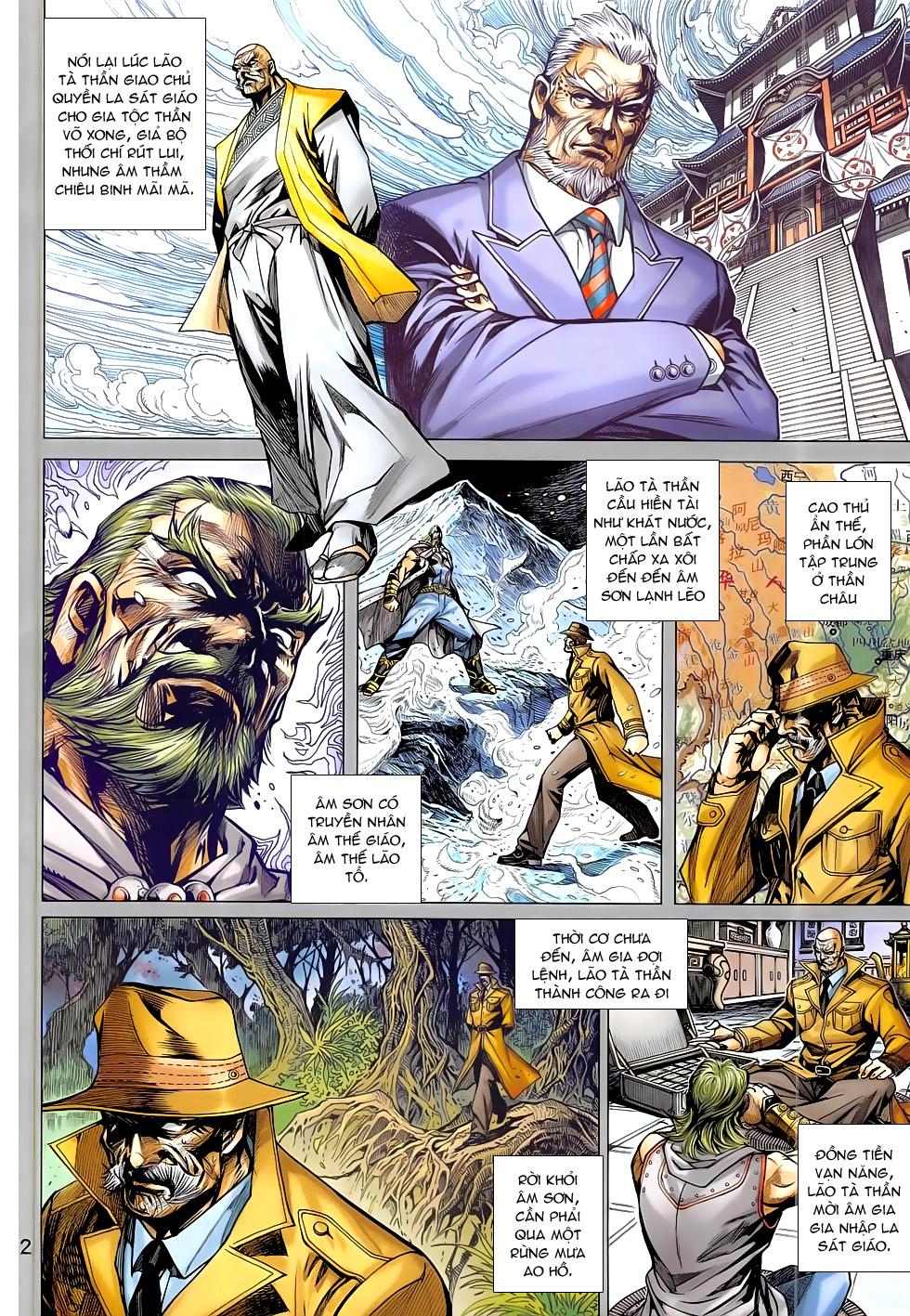 Tân Tác Long Hổ Môn chap 785 Trang 2 - Mangak.info