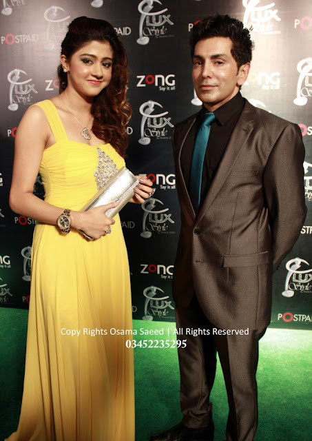 Faakhir at LUX Style Awards 2012