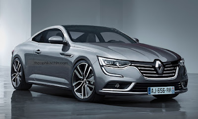 Renault Talisman Coupe [Rendering]